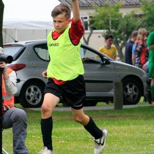 Hyde JFC U13 at the Scarisbrick FC Tournament