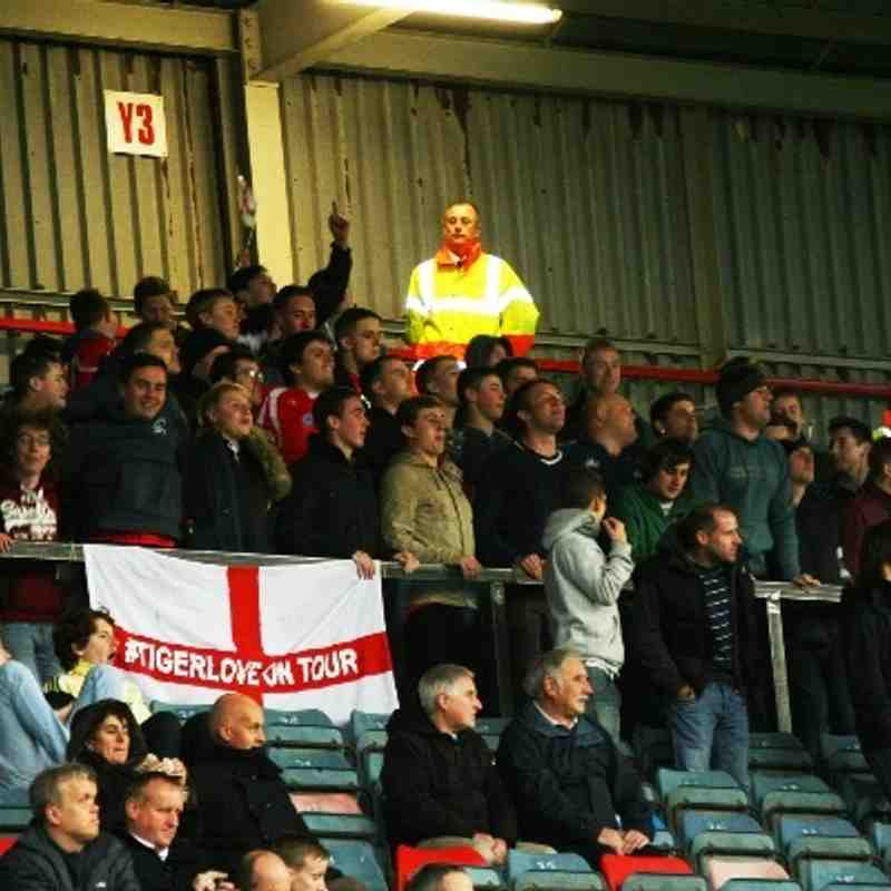 Wrexham v Hyde FA Cup