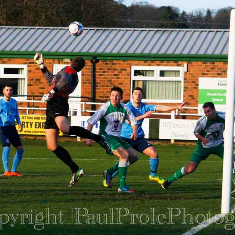 North Ferriby United v Hyde (FA Trophy)