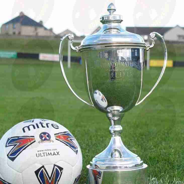Highland Amateur cup final - Saturday 24th of August 2019