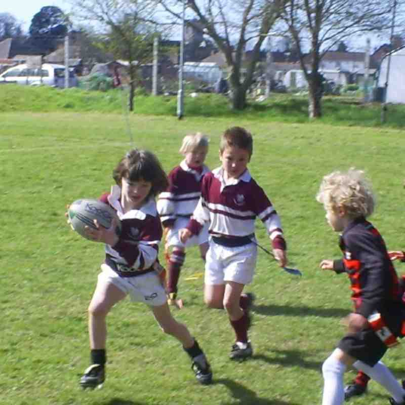 u7s playing twickenham