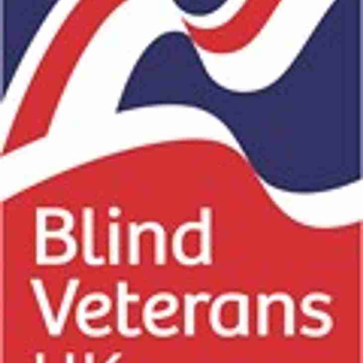 Please support our Ian in doing a 100k Walk in Aid of Blind Veterans 1st/2nd July