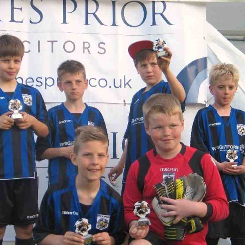 Horsford Tourney runners up