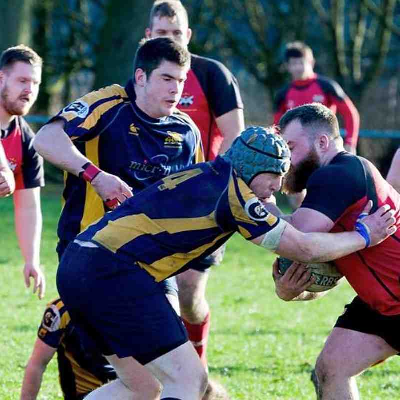 Glenrothes 1XV vs Gordonians 21/3/15