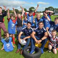 Rugby Force Open Day Great Success at Glenrothes!