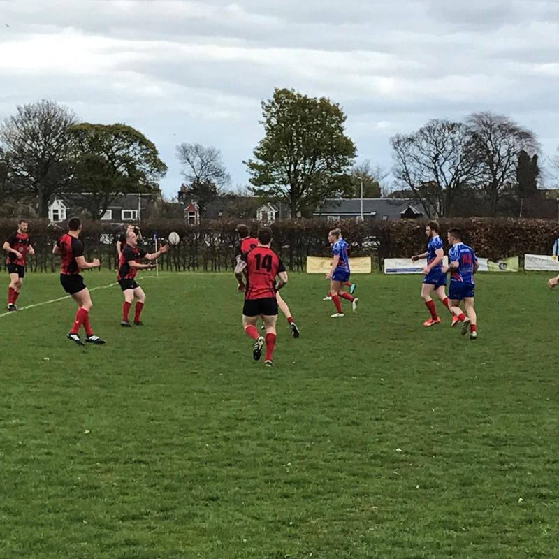 Glens First 7s Outing at Kirkcaldy