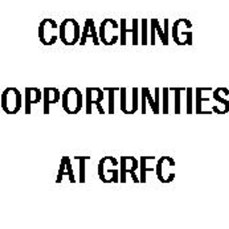 Coaching Opportunities at GRFC