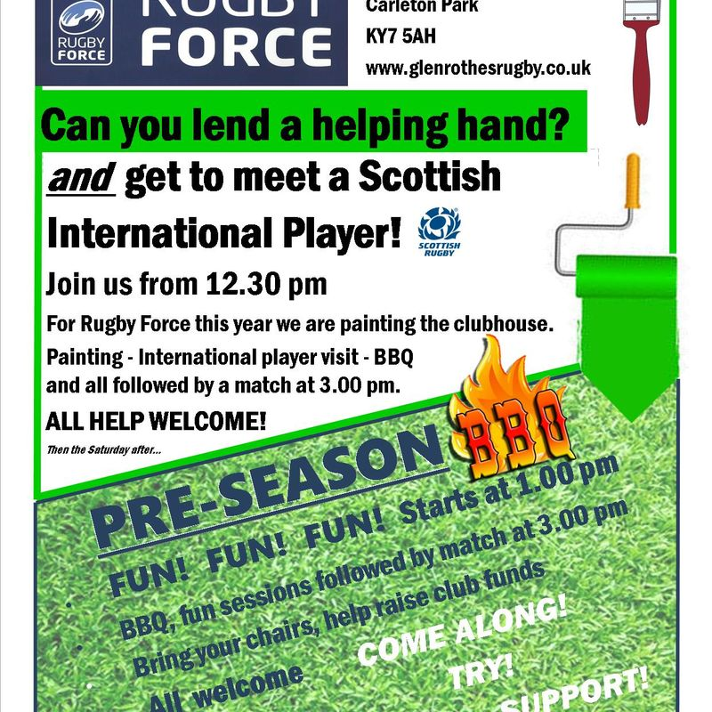 LOTS to Get Involved in at GRFC
