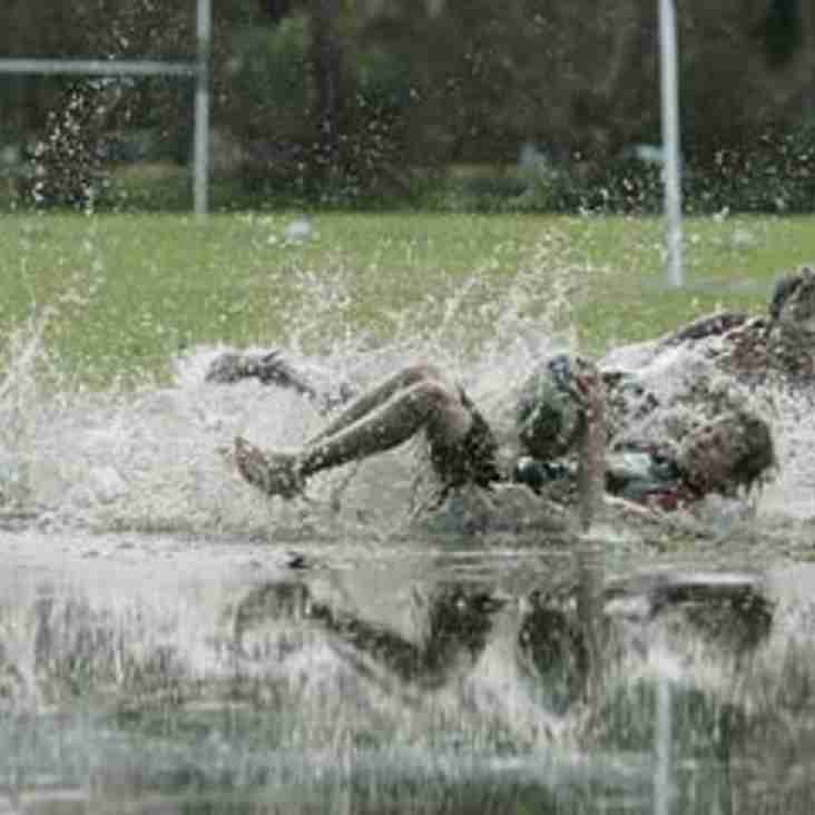 1st XV game v Glasgow Accies is off