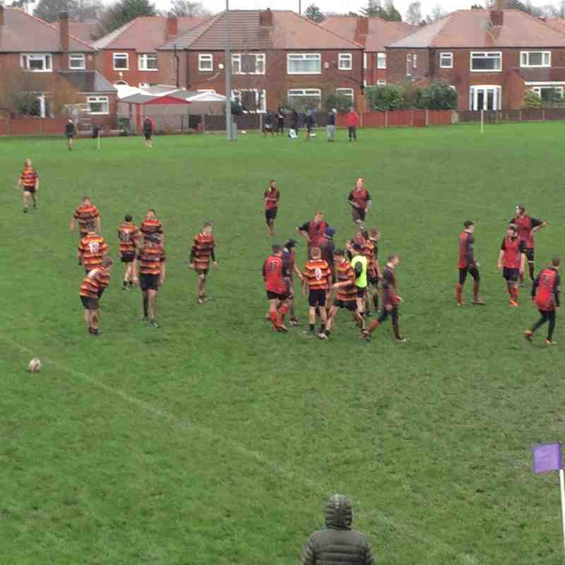 Under 16s v Heaton Moor U16 - 20th December 2015