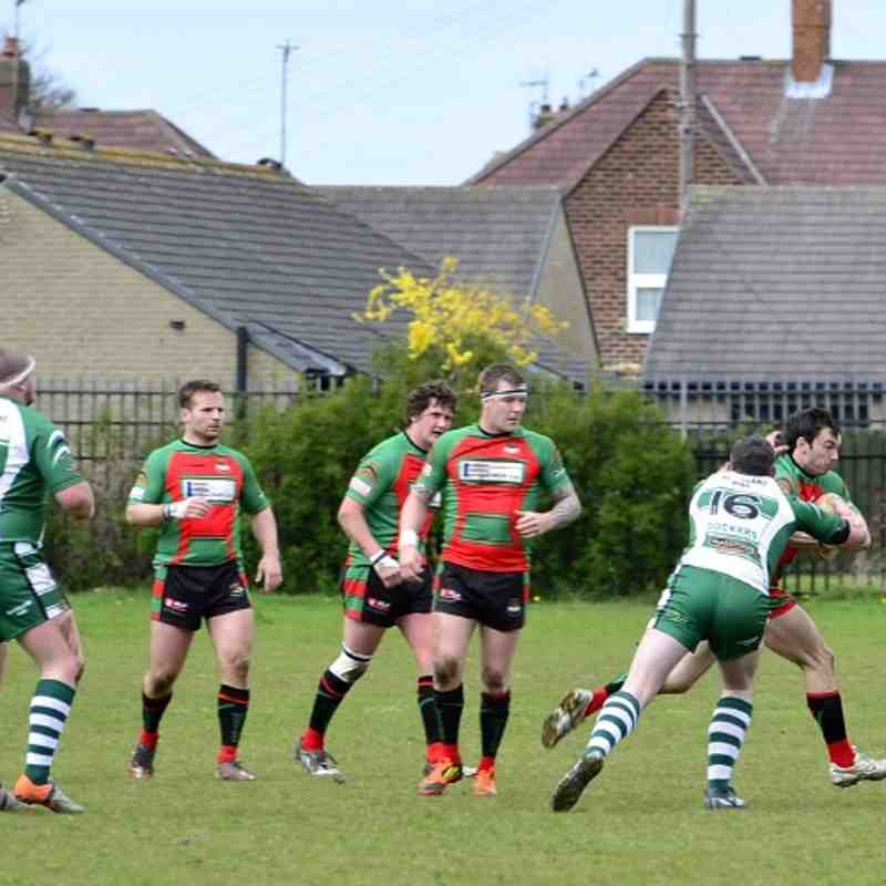 Myton Warriors 16 - 20 Hull Dockers By Les Booth and Geoff Strymans