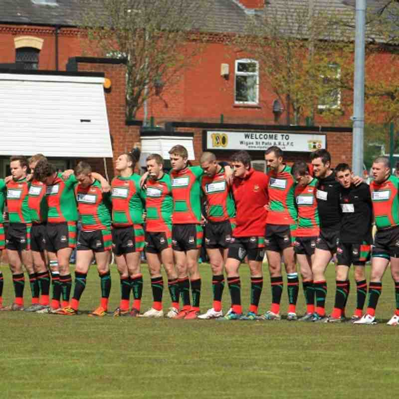 Wigan St Patricks 30 - 18 Myton Warriors By Les Booth