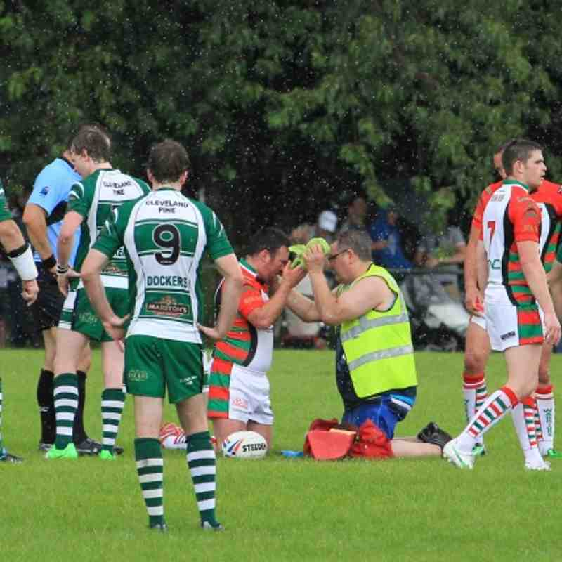 Hull Dockers 6 - 16 Myton Warriors By Les Booth