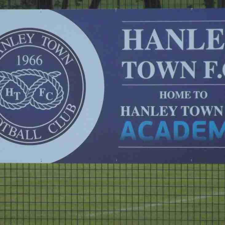HANLEY TOWN FC COMMUNITY COACHING SCHOOL