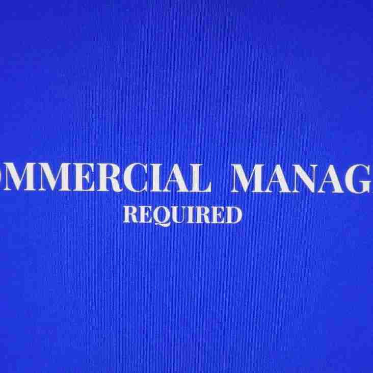 COMMERCIAL  MANAGER