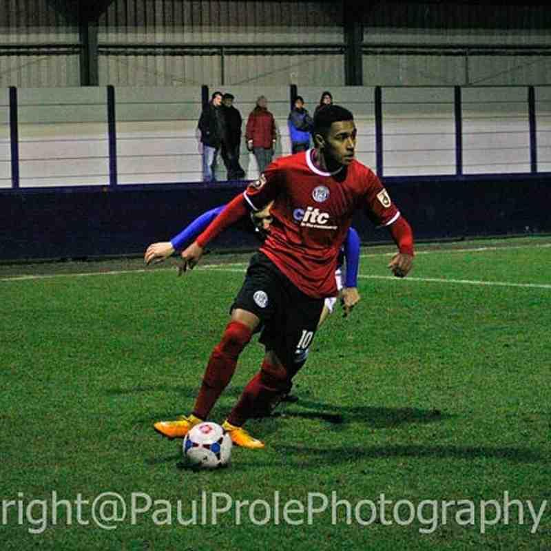 Hyde FC 1st v Macclesfield Town FC 1st