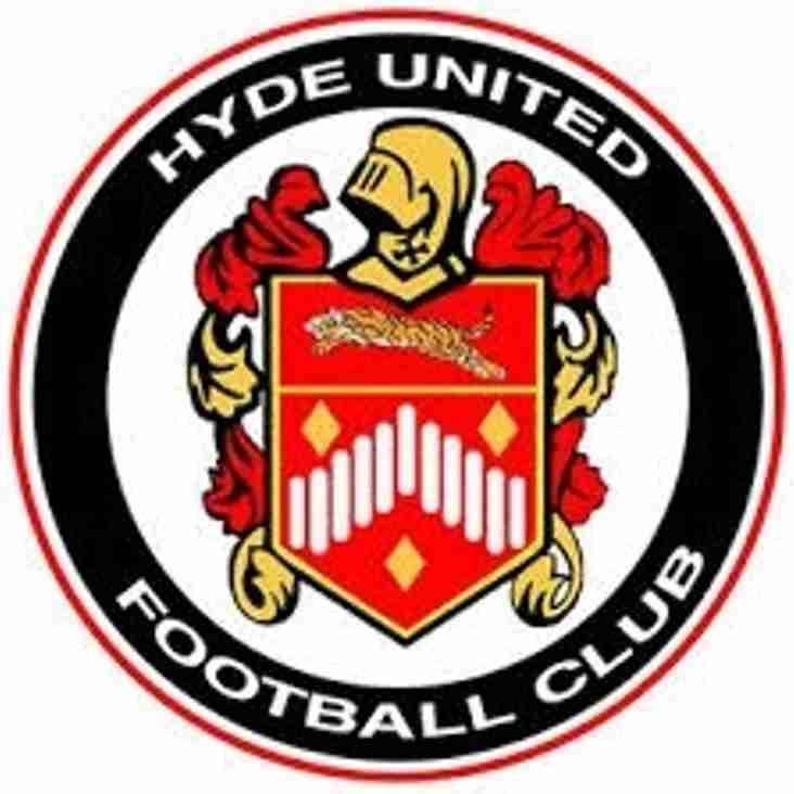 HYDE UNITED F.C. ANNOUNCES £400k INVESTMENT  IN EWEN FIELDS STADIUM