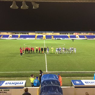 CHESTER FC 3 - 3 HYDE UNITED FC
