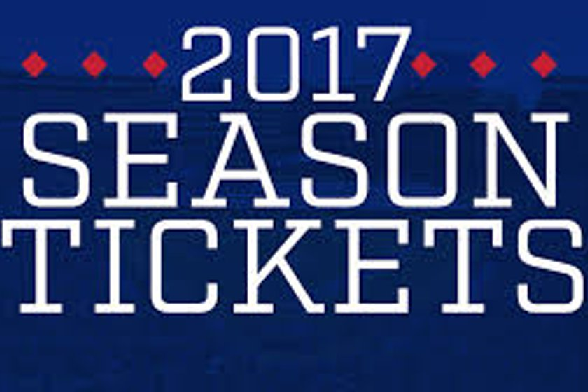 SEASON TICKETS 2017-2018