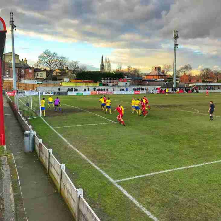 OSSETT TOWN FC 0 v 2 HYDE UNITED FC