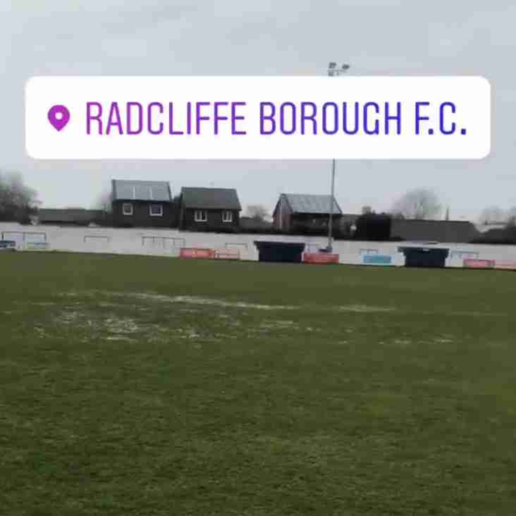 RADCLIFFE BOROUGH FC P - P HYDE UNITED FC