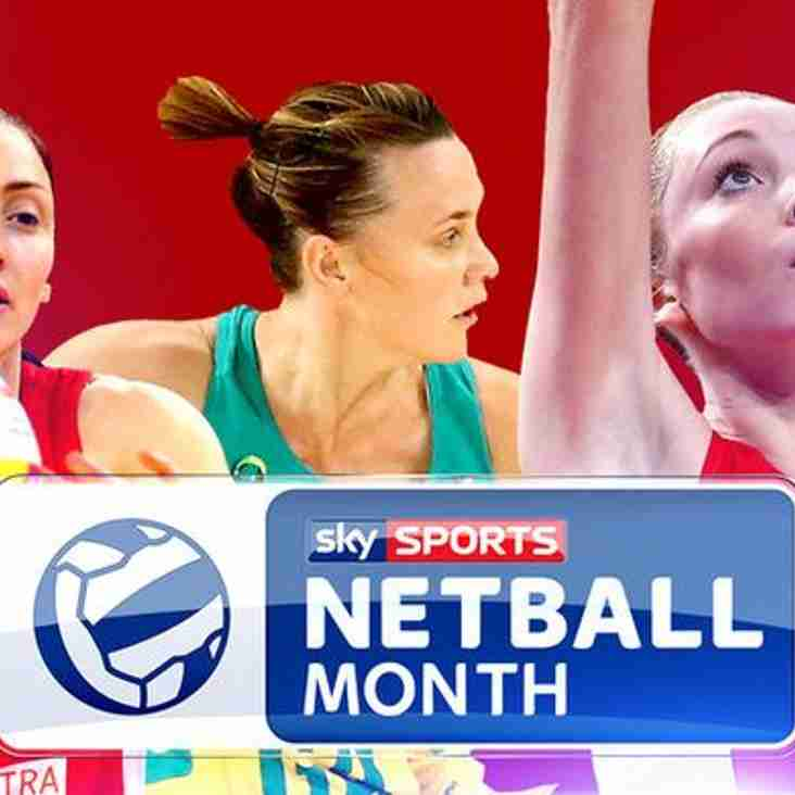 Sky Sports streaming Netball – what this means for our sport!