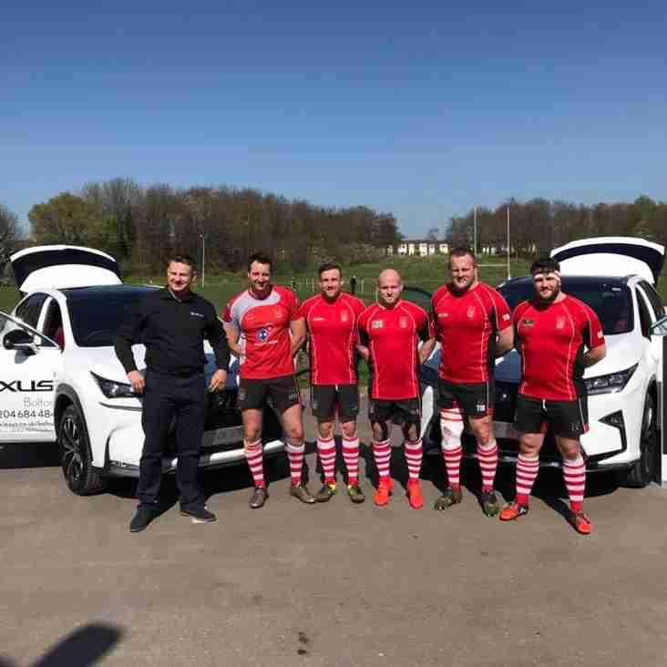Lexus visit Bolton RUFC