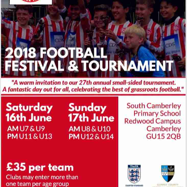 CTYFC Summer Tournament 2018