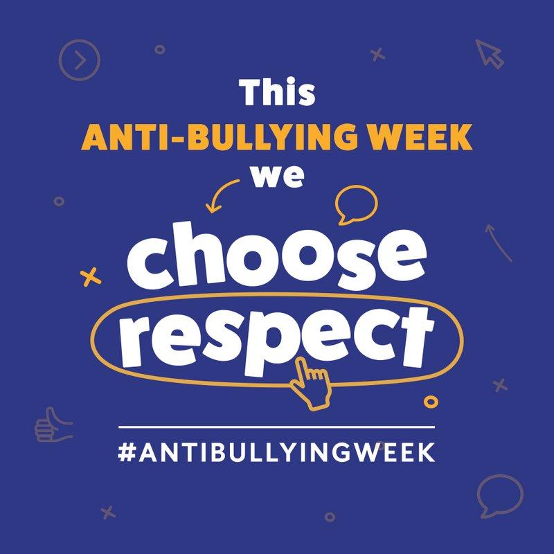 Anti Bullying Week w/c 12th November 2018