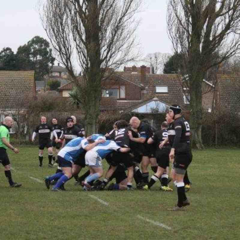 2nd XV v Mersea Island 2 - 28th February 2015