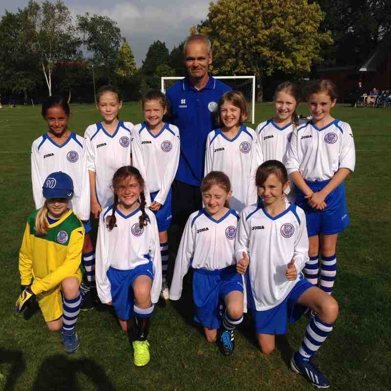 woking cougars U11 girls