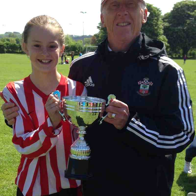 U12s Win the Cup 2016