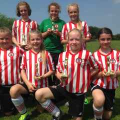 Saints Under 12s Win BTC Tournament