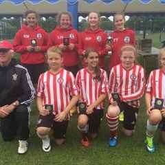 UNDER 12S WIN ROMSEY TOWN TOURNAMENT