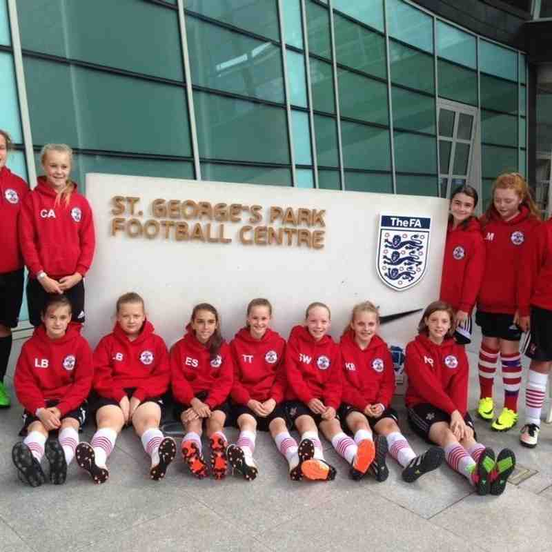 U12s at St George's Park - 3rd July 2016