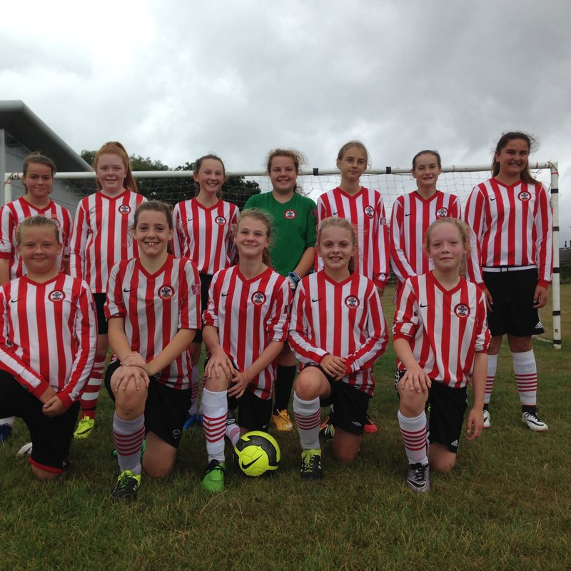 Under 13s March On In the Cup!