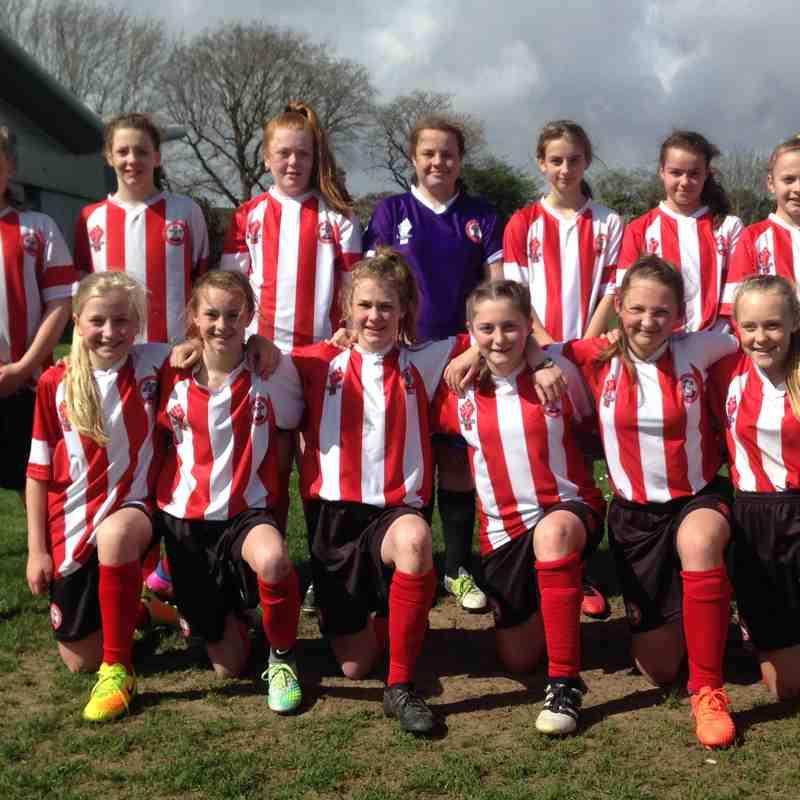 Saints U13s Beat Pompey 6-0