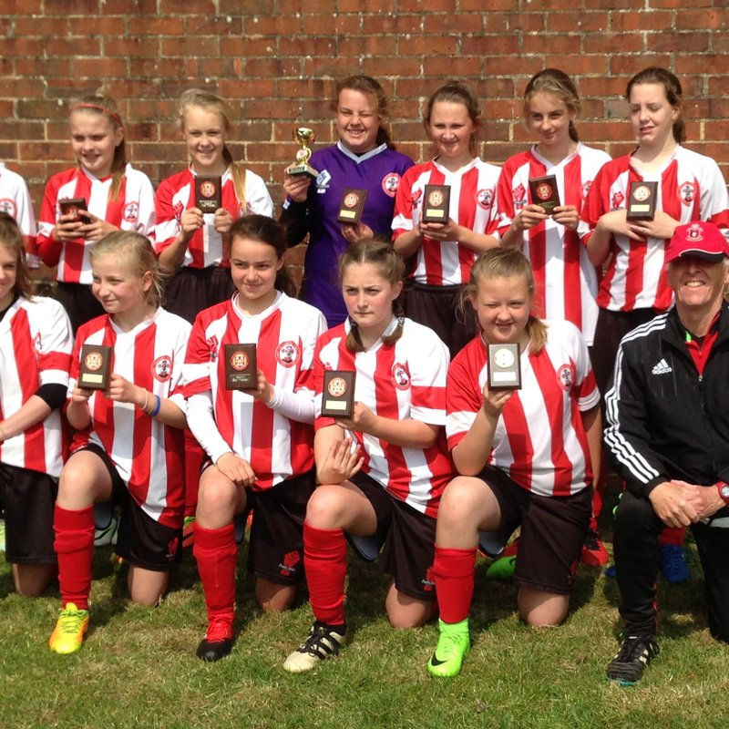 SAINTS  U13s  WIN  THE  CUP !