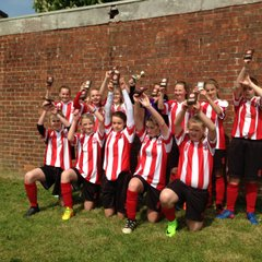 Saints U13s Win the Cup 2017