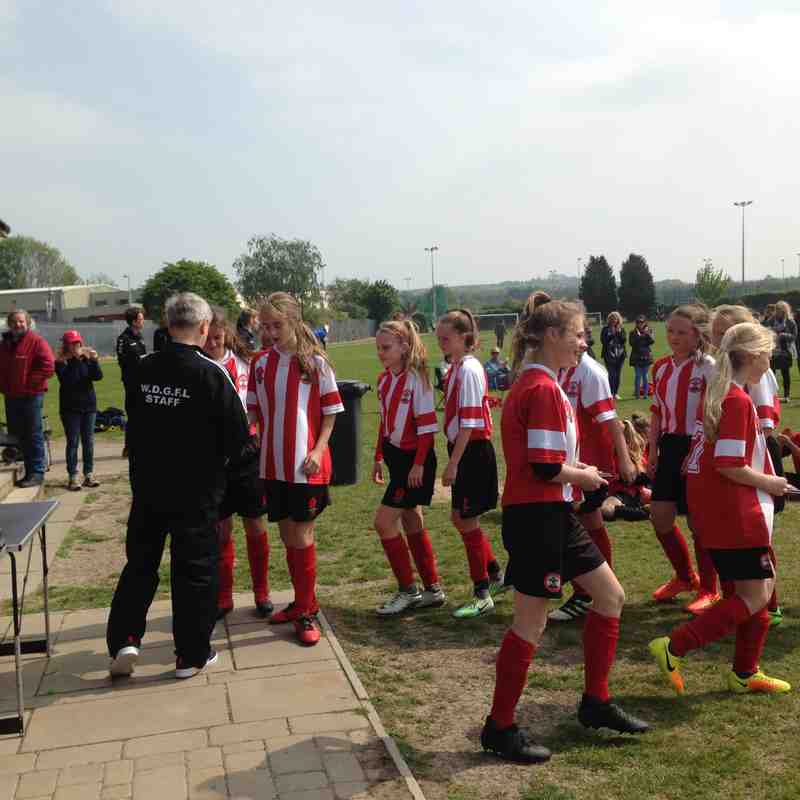 Saints U13s Win the Cup 2017