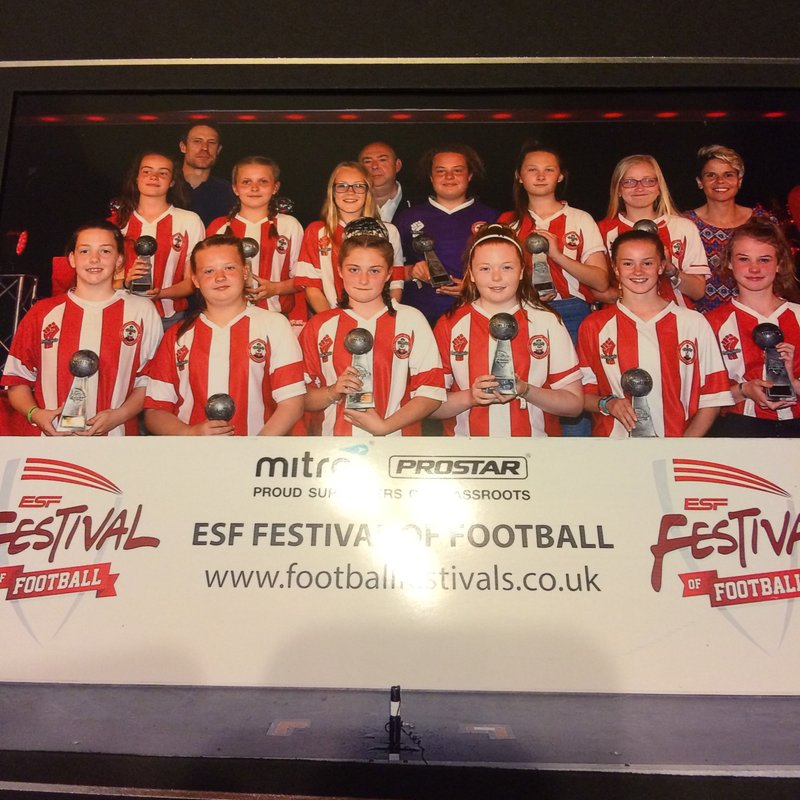 SAINTS  UNDER  13S  WIN  AT  BUTLINS  AGAIN!