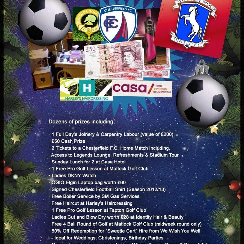 CHRISTMAS RAFFLE WINNERS!!!