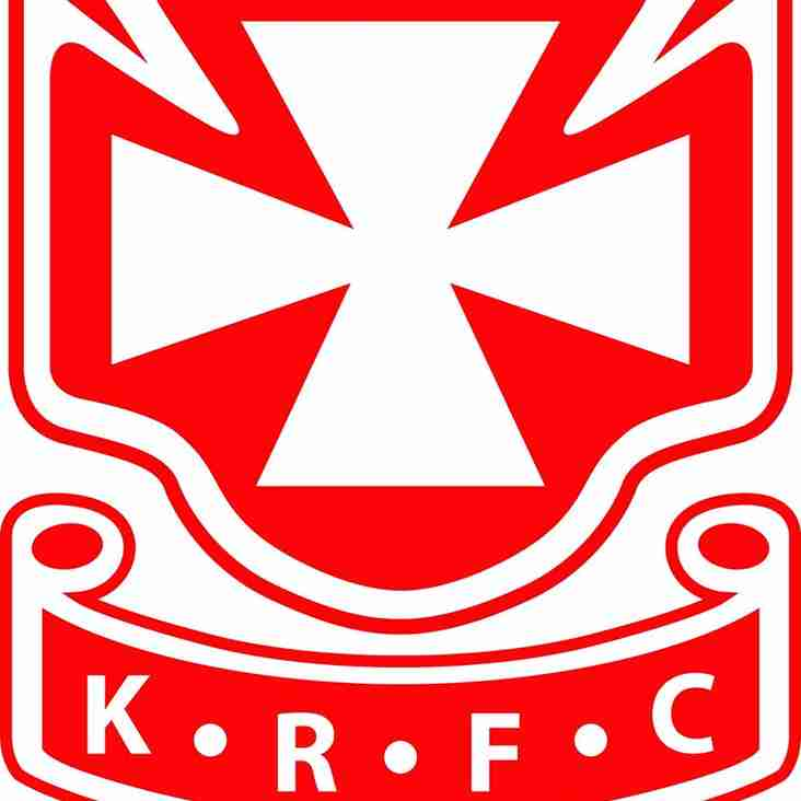 KRFC AGM to be held on Thurs 18th May @7pm