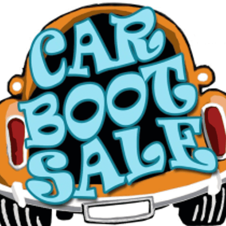 Car Boot Sale - 13th May from 9am