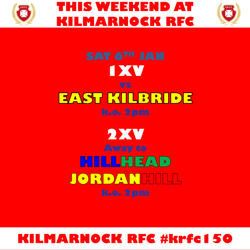 Back to league rugby for 1XV & 2XV this weekend