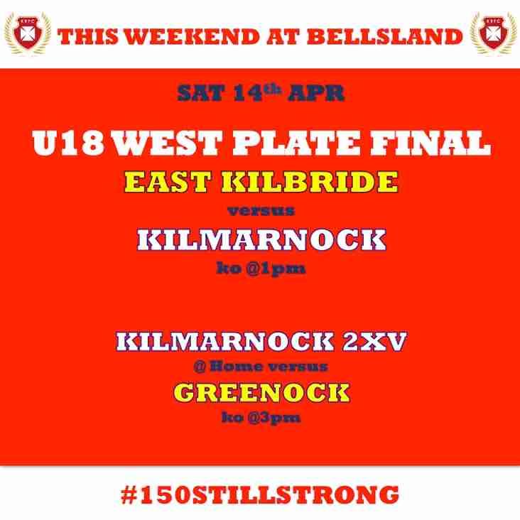 KRFC u18s play in PLATE FINAL this weekend @ekrfc @gwrfc
