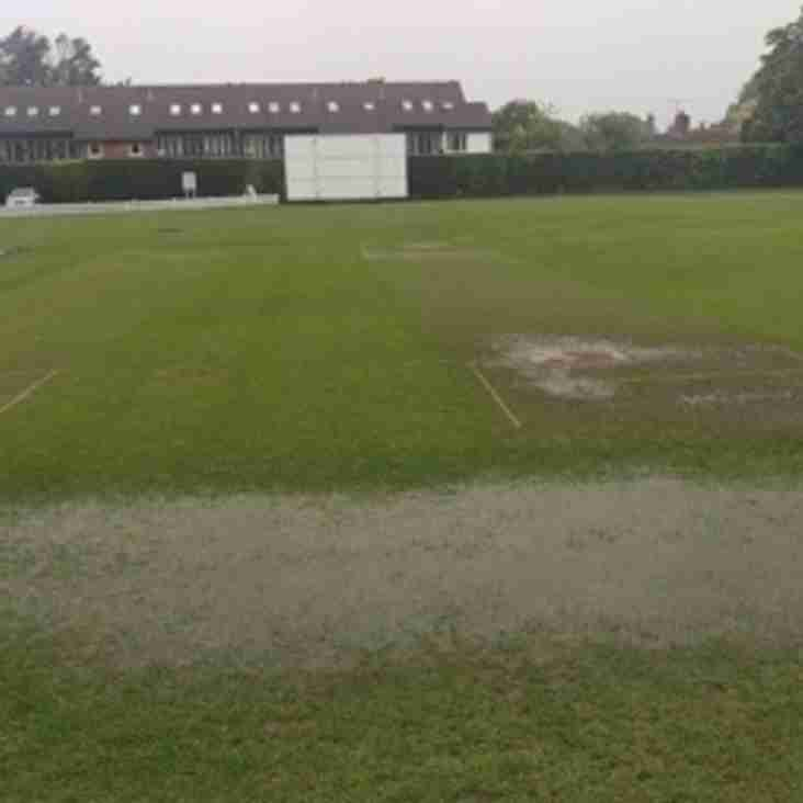 Tonights T20 game versus Beddington is POSTPONED