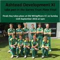 Ashtead Development team take part in Finals Day 2016