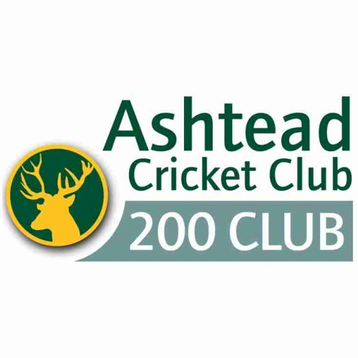 The latest winners for the 200 Club have been announced