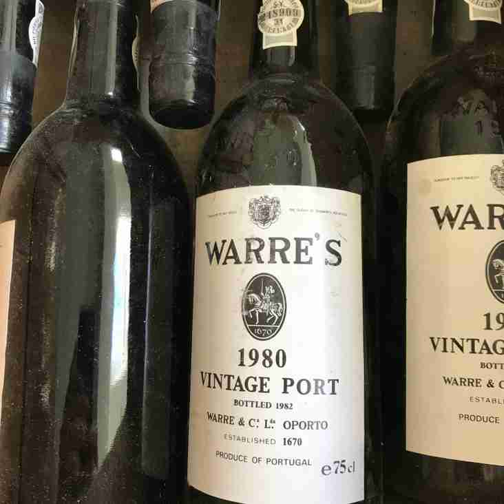 Silent Auction taking place now for Warre's Vintage Port